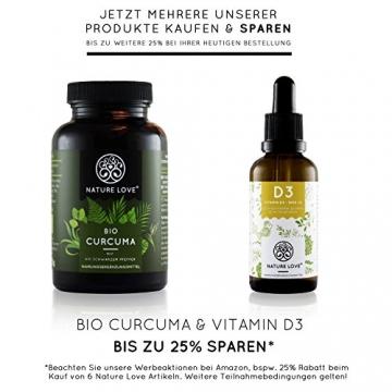 Der zweifache SIEGER 2017*: Vitamin D3 1000 I.E - 25 µg. Pflanzlich und vegan (50ml). Vitamin D3 (Cholecalciferol). Hoch bioverfügbares Vitamin D. Hochdosiert & hergestellt in Deutschland - 6