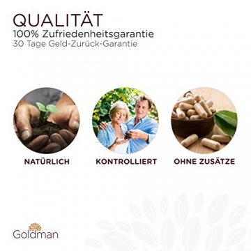 Goldman Vitamin D3 Flüssig • 50ml = 1850 Tropfen • 1 Tropfen = 25µg (1000 I.E.) • In MCT Öl gelöst • Vitamin D3 hochdosiert • Vegan, laktosefrei, glutenfrei • Made in Germany - 4