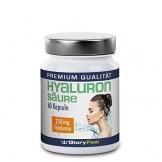 Hyaluronsäure Kapseln Hochdosiert - 250mg Reine Hyaluronsaeure pro Tagesdosis - 60 Vegane Kapseln - Deutsche Nahrungsergänzung von GloryFeel - 1