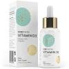Vitamin D3 - Hochdosiert mit 2000 I.E (50 µg) pro Tropfen. 100% pflanzlich, natürlich und vegan. 50 ml, 1350 Tropfen. Hoch bioverfügbares Vitamin D (Cholecalciferol) aus Flechten gelöst in MCT Öl - 1