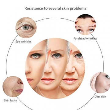 Hyaluronsäure Serum,Gesichts Serum mit Bio Inhaltsstoffen,Anti-Aging Gesichtspflege, gegen Gesichtfalten, Krähenfüße, Lachfalten, Linien und alle Alterserscheinungen werden drastisch reduzier der Haut - 6